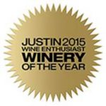 justin winery 2015 winery of the year
