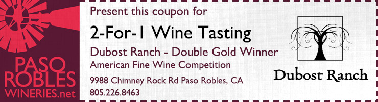 dubost ranch 2 for 1 coupon