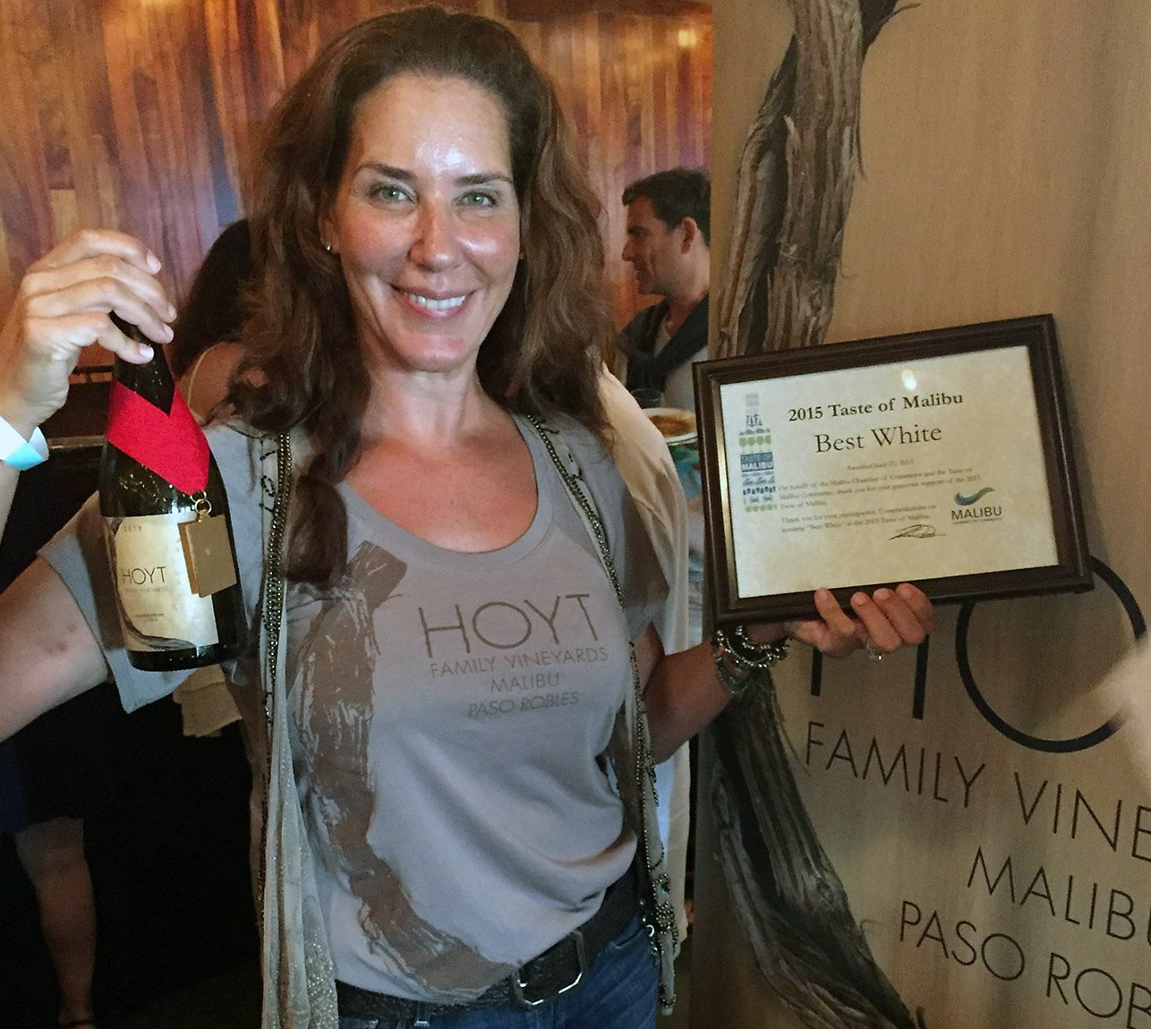 Hoyt Family Vineyard Carol Award