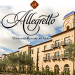 Allegretto Vineyard Resort with Background