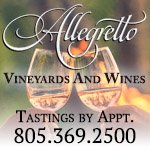Allegretto Vineyards & Wines Button Ad