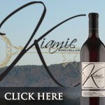 Kiamie Wine Cellars Button Ad