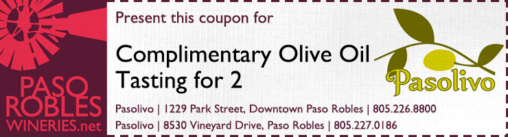 Pasolivo Tasting for 2 Coupon